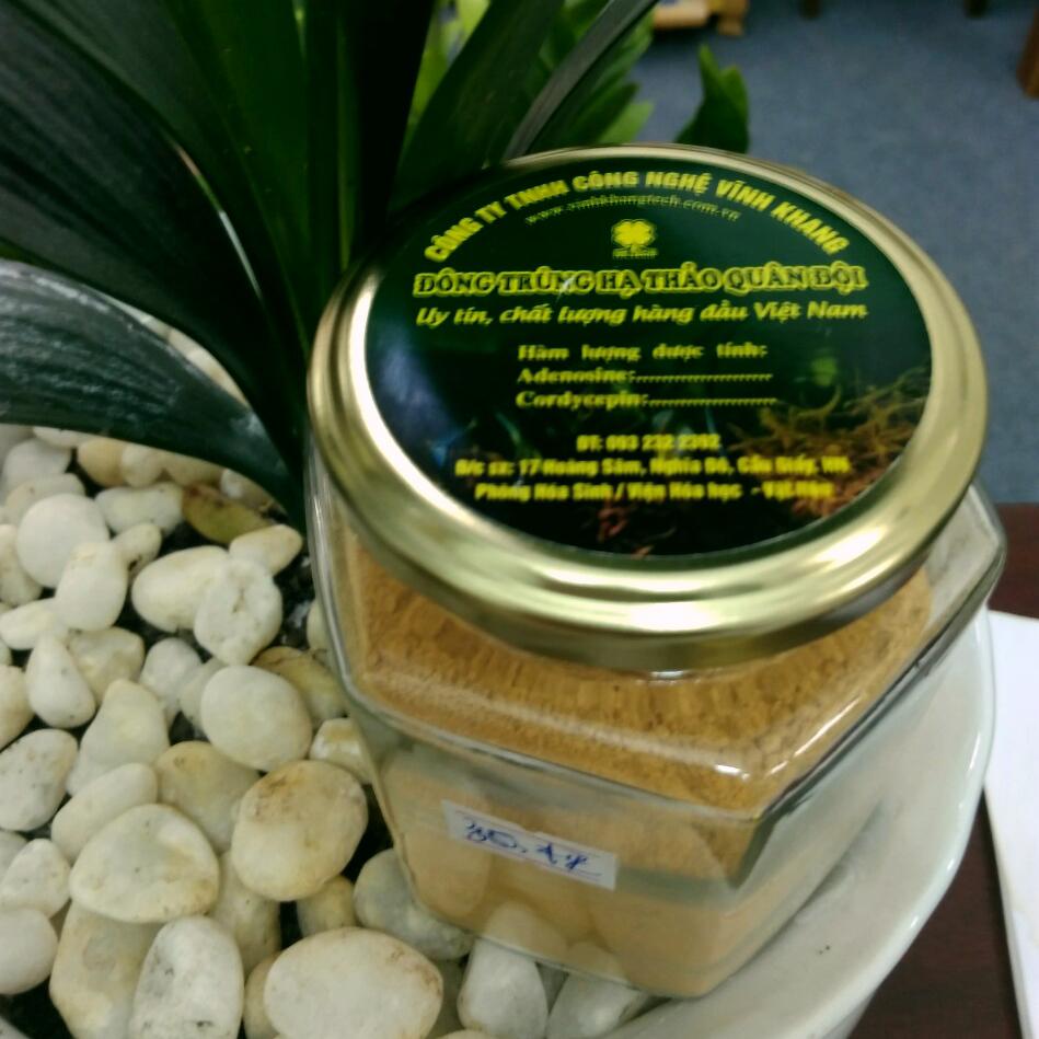 Đông trùng hạ thảo dạng bột lọ 30 gram